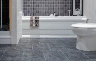 Art Z Bathroom Tile floor Installation