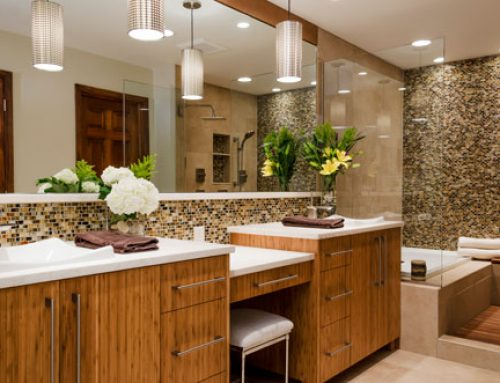 Bathroom remodel with Art Z