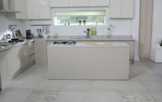 Kitchen Tile Floor Installation