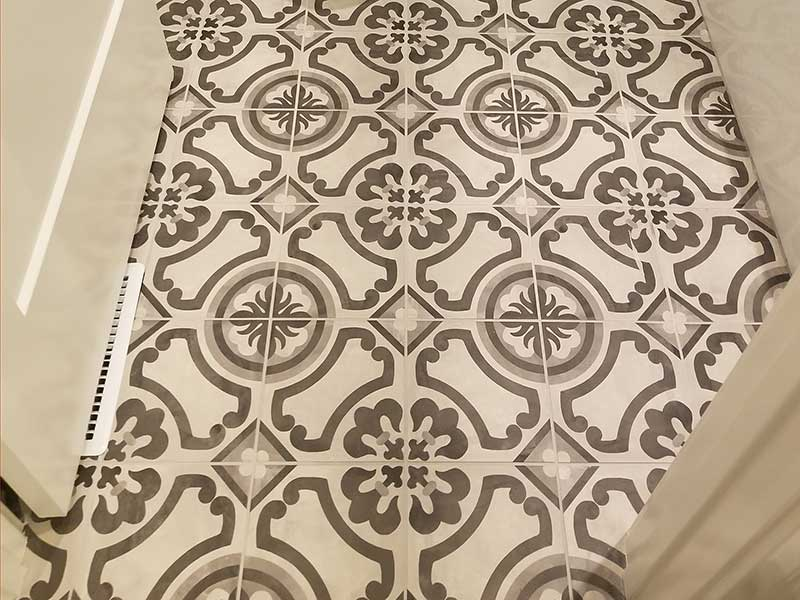 Porcelain Printed Tile Flooring