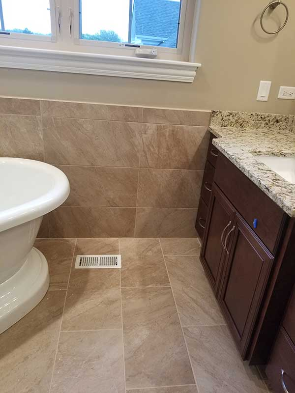 Art Z Tile Installers - Master Bathroom