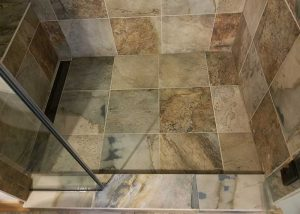 Porcelain Bathroom Tile Installation