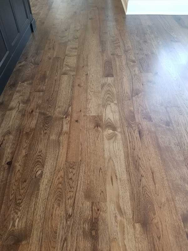 Hardwood floring by Tile Contractors