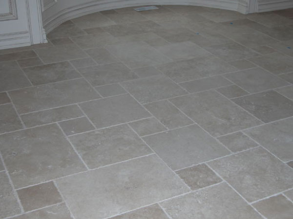 Marble Tiled Kitchen Floor