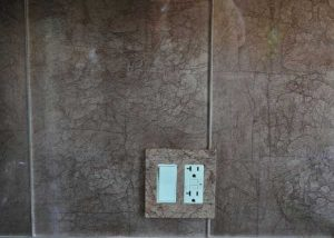 Faux Painted Outlet Cover