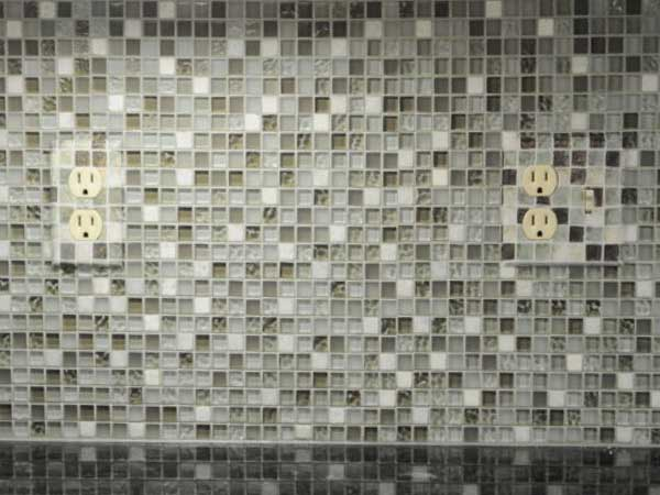 Glass Tile Kitchen Backsplash Installation