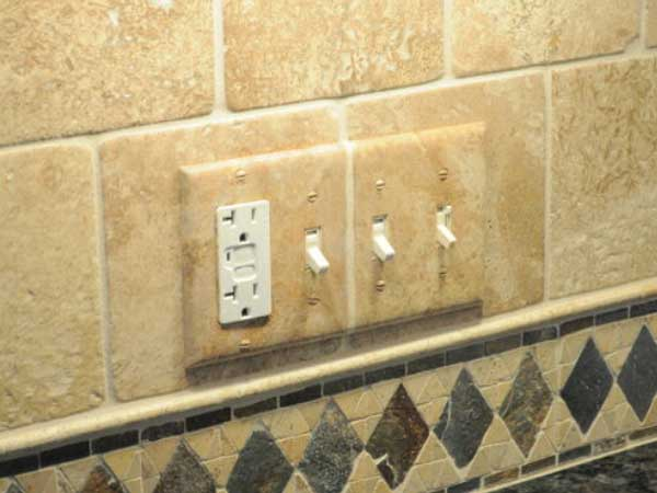 Custom Faux Painted Outlets Covers