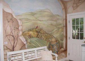 Custom Painted Decorative Mural