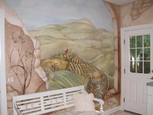 Custom Painted Decorative Mural