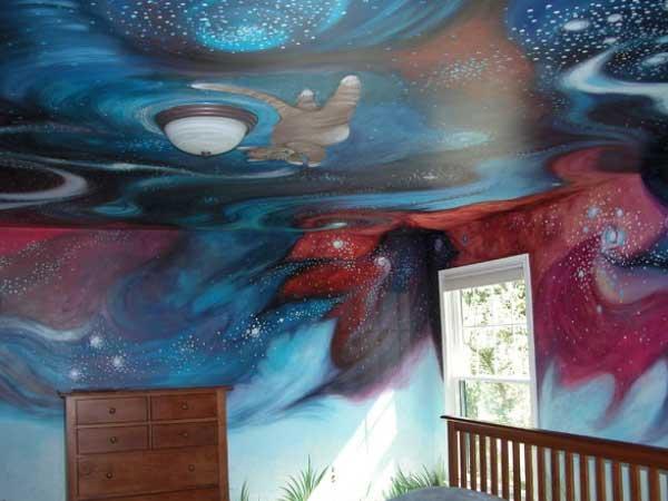 Kid's Room Custom Painted Mural