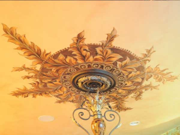 Special Hand Painted Ceiling Effects
