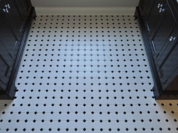 Mosaic Ceramic Tile Flooring