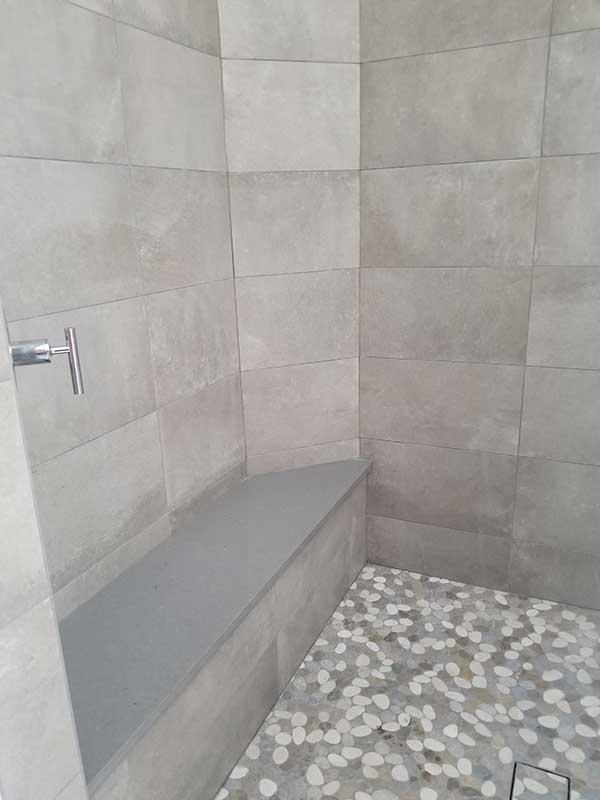 Mosaic Bathroom Tile Installation