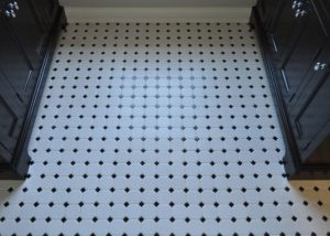 Ceramic Mosaic Bathroom tile Installation