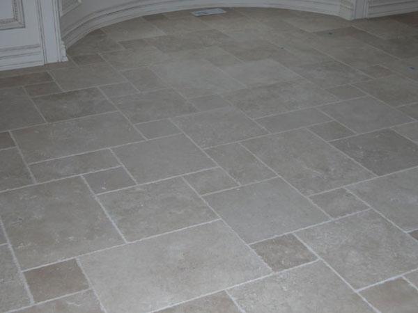 Marble Tiled Kitchen Floor
