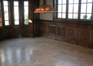 Marble Tiled Basement Floor