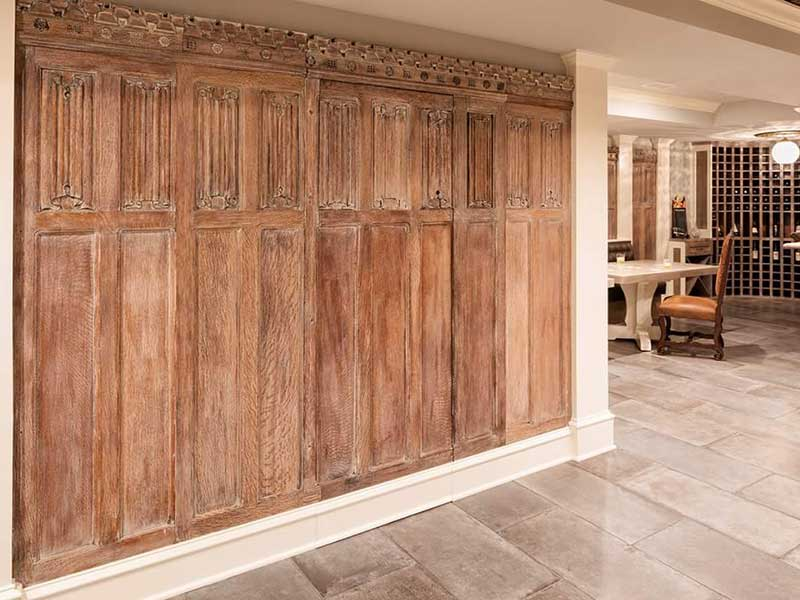 Basement Floor by Tile Installers
