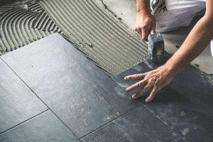 Mosaic Ceramic Tile Flooring